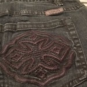 WOMEN'S LIZ CLAIBORNE SLIM BOOTCUT JEANS LIKE NEW